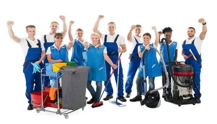 Empresa de higienização de ambientes