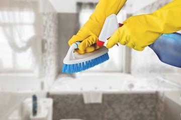 Serviços de portaria e limpeza