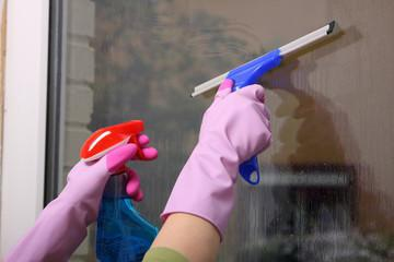 Serviços terceirizados de limpeza