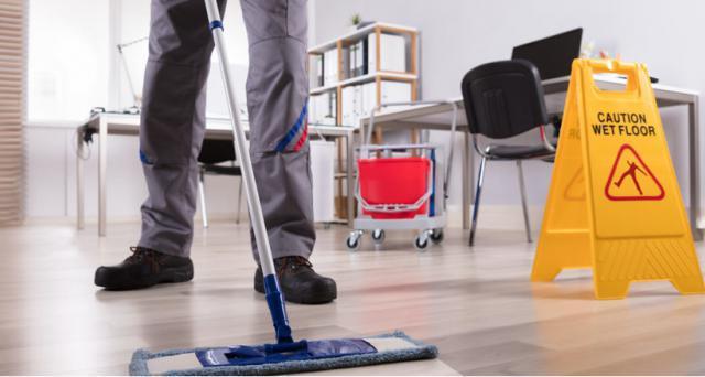 Terceirização de limpeza em condominios