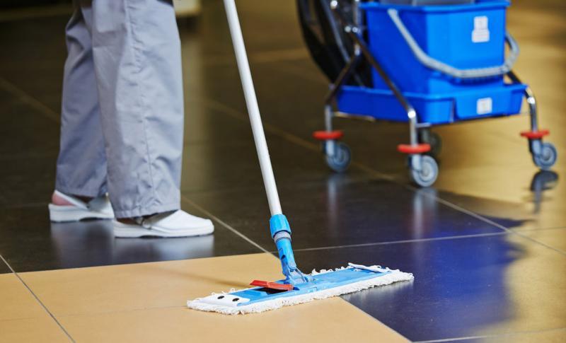 Terceirização de mão de obra limpeza